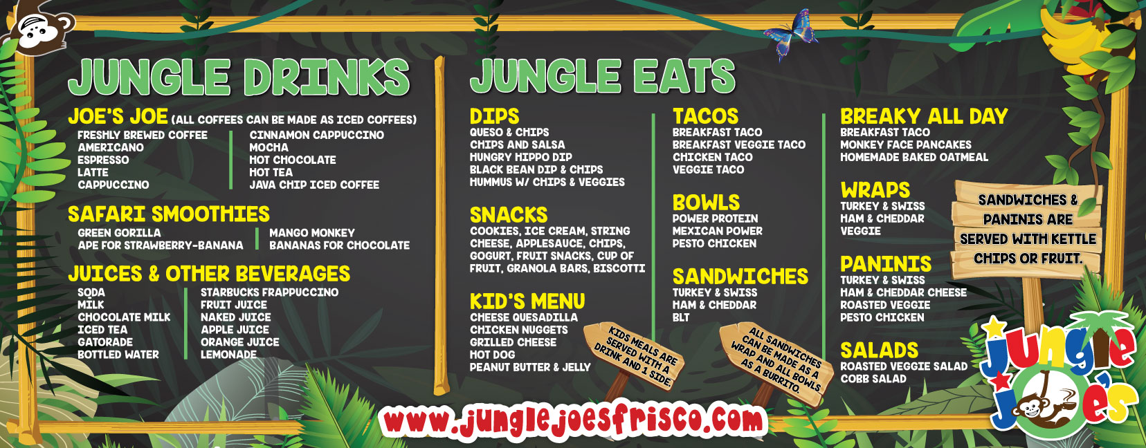 Jungle-Joes-Menu-92-X-36