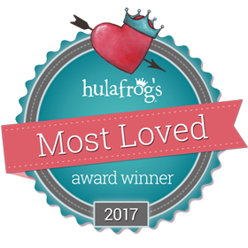 Hulafrogs-Most-Loved-Badge-Winner